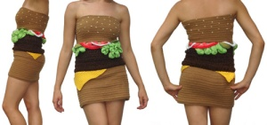 hamburger dress (1)